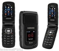 Original Samsung Rugby II A847 Black (AT&T) unlocke Cell Phone,GPS,3G,flip music