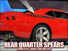 2010 2011 2012 2013 Camaro rear quarter spear side stripes SS RS ZL1 Strobe