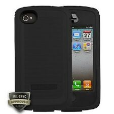 NEW OEM Body Glove Toughsuit Cell Phone Case iPhone 4 4S 9304901 Black / Black