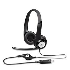 Logitech ClearChat Comfort USB Over-Head PC Audio Application - 981000014