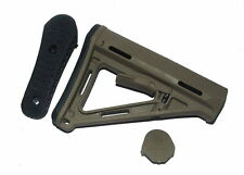 Element Dark Earth PTS Crane Rear Butt Stock for Airsoft AEG w/Butt Pad