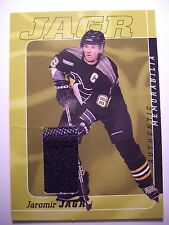 "1999-2000 Be A Player Millennium Jaromir Jagr Jersey ""No Number"" Rare SP Relic"
