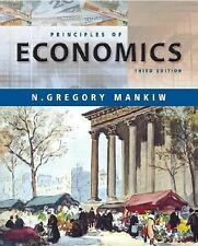 Principles of Economics by N. Gregory Mankiw (2003, Hardcover)