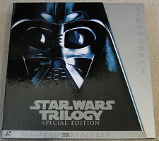 STAR WARS 1997 Trilogy Special Edition Box 6LD Japan Laserdisc PILF-2434 MINT