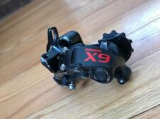 SRAM X9 10 Speed Medium Cage Rear Derailleur Type 2 Clutch Red