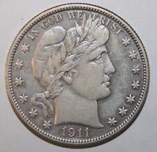 1911 Barber Silver Half Dollar YD8