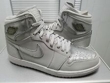 Nike Air Jordan 1 Retro HI SILVER 2009 25th Anniversary Sz 11.5 DS 396009 001