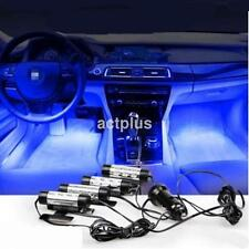 4x3LED Car Charge Interior Accessories Atmosphere Lamp 360 Rotating Light CA