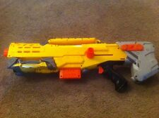 Nerf Longshot CS-6 Foam Dart gun tested and working W Clip