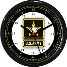 U.S. Army 24 Hour Wall Clock Military Patriotic  Service Gift