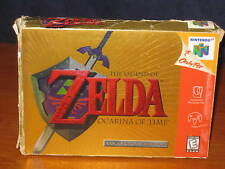 Legend of Zelda: Ocarina of Time Collector's Edition N64 COMPLETE w/ box manual