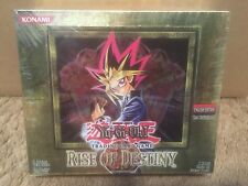 Yu-Gi-Oh Rise of Destiny Booster Box 1st Edition English New Factory Sealed!