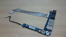Genuine Dell Studio XPS 1645 1647 1640 Audio Jack Board USB & Cable DA0RM5PIAA0