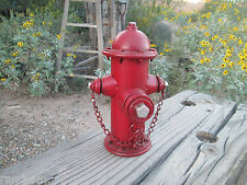 Fire Hydrant Metal Bank - Firefighter garage Fire Department  shop man cave IAFF