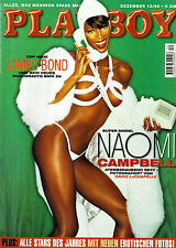 Playboy Dezember/12/1999   Super-Model  NAOMI CAMPBELL