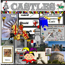 CASTLE TOPIC TEACHING RESOURCES KS1 KS2 Castles TOPIC  Teacher resource display