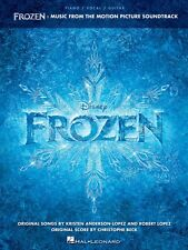 Frozen Sheet Music from Movie Soundtrack Piano Vocal Guitar SongBook N 000124307
