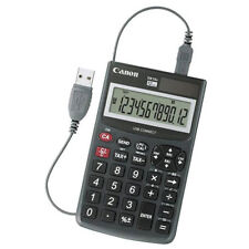 Canon DK10I Desktop Calculator Solar - With USB PC-Link Number Pad Tax