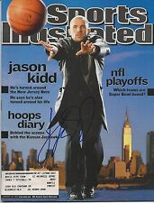 **GFA Sports Illustrated *JASON KIDD* Signed SI Magazine AD3 COA**