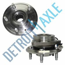 Pair of 2 NEW Front Wheel Hub and Bearing Assembly Set Fits Right and Left Sides