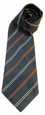QUEENS REGIMENT EAST & WEST CLASSIC STRIPE SILK WOVEN UK MADE MILITARY TIE