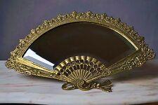 Jugendstil Tischspiegel ~1900 Nostalgie Spiegel Schminkspiegel Bronze facettiert