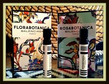 2 x BALENCIAGA Florabotanica & Rosabotanica 1.2ml EDP Mini Sample