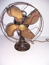 "VINTAGE EMERSON ELECTRIC 12"" OSCILLATING FAN # 292426 WORKS!"