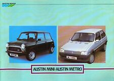 Austin Mini / Austin Metro Belgian / Dutch market sales brochure