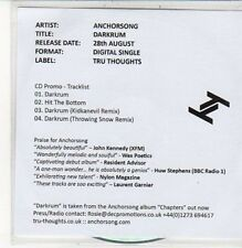 (DC605) Anchorsong, Darkrum - 2012 DJ CD