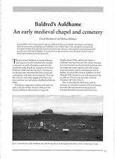 Balderd's Auldhame, an early Medieval Chapel & Cemetery, East Lothian