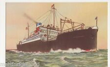American One Class Liners, Shipping Art Postcard, B544