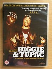 BIGGIE Y TUPAC ~ 2002 Nick Broomfield Documental 2Pac Smalls Hip Salto RU DVD
