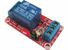 12V 1 Channel Relay Module With OPTO Isolation Support High Low Level Trigger