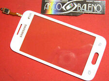 VETRO+TOUCH SCREEN per SAMSUNG GALAXY ACE 4 SM-G313 LCD DISPLAY BIANCO RICAMBIO
