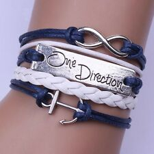 New Designe Friendship Bracelet One Direction Fashion Leather Bracelet [11]