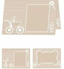 ebosser A4  Embossing Folder - Baby Blocks :  EF-BBL-A4