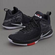 NIKE LEBRON ZOOM WITNESS SZ 10.5  852439 002   BLACK BASKETBALL SHOES XIV