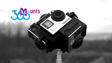 GoPro 360 Gradi Panorama Mount Rig GO PRO HERO 3, 3+ 4 Accessorio