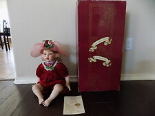 "Kisses 24"" Porcelain Doll By Fayzah Spanos With COA+Box"