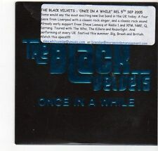 (EZ553) The Black Velvets, Once In A While - 2005 DJ CD