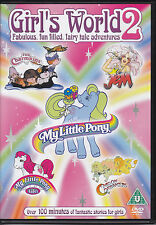 Girls World 2 - My Little Pony, Charmkins, Jem, MoonDreamers, Pony Tales R2 DVD