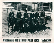 Walt Disneys The Tattooed Police Horse lobby card mounted police line up