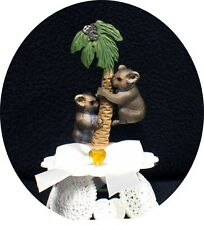 adorable Australia Koala Bear Wedding Cake Topper Top Nature Tropical groom top