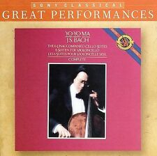 J. S. Bach: The 6 Unaccompanied Cello Suites DSD CD (CD, Jun-2006, 2 Discs,...