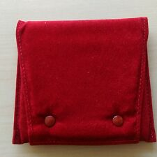 CARTIER CLASSIC JEWELRY MULTI TASKING STORAGE/POUCH, RED SIGNATURE COLOR
