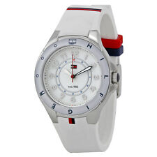 Tommy Hilfiger White Dial White Rubber Ladies Watch 1781271