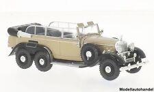 Mercedes G4 (W31) dunkelbeige/schwarz 1938 - 1:43 Whitebox