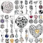 Cartoon Love Crystal Beads Fit European Charms For 925 Sterling Silver Bracelets