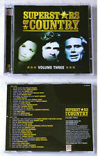 Superstars of Country Volume Three-Johnny Lee, Cal Smith,. Time Life do-CD Top